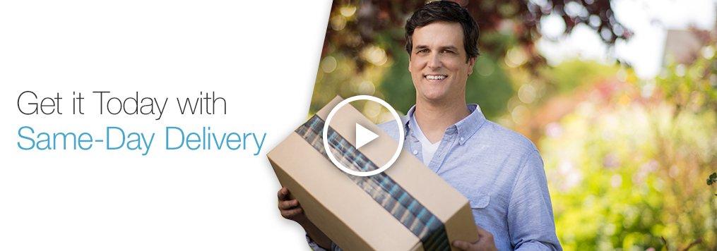Amazon Prime Members – FREE Same Day Shipping