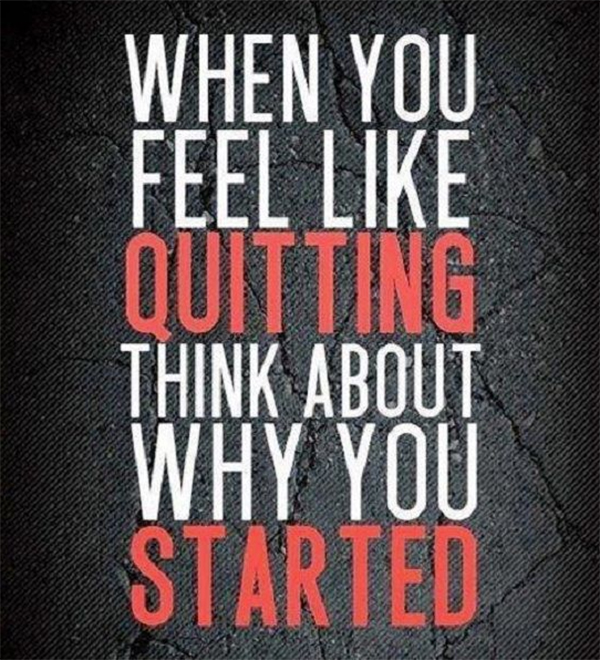 When Quitting
