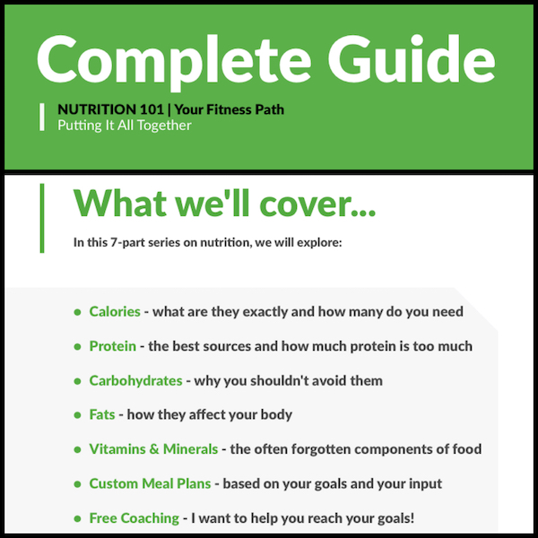 Your Fitness Path - Nutrition 101