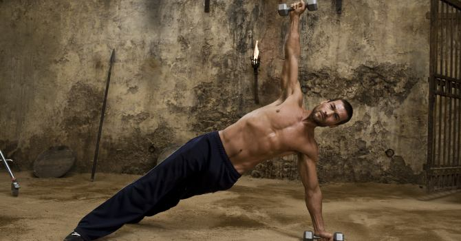 Spartacus Workout - Actor - Andy Whitfield