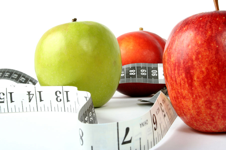 apple-and-tape-measure