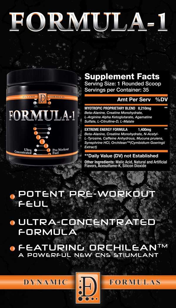 formula-1- pre-workout