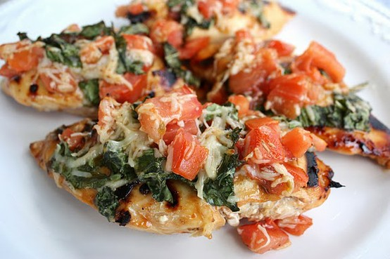 P90X2 Chicken Bruschetta