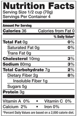 Arctic Zero Nutrition Facts