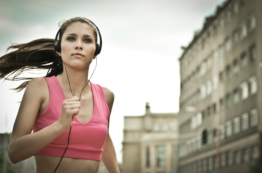 create a running playlist