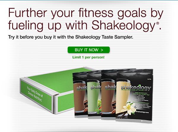 Shakeology Taste Sampler