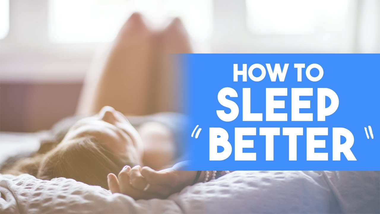 Sleep better, Live better